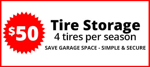 Tire Storage Deal in Cambridge, ON